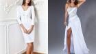 Robe blanche pour 2020
