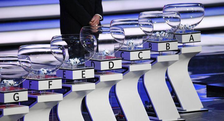Le tirage au sort du Championnat d'Europe de football en 2020