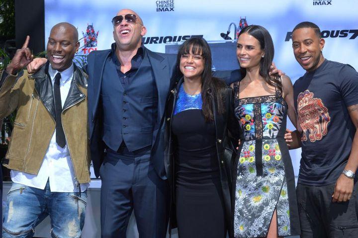 Les acteurs du film Fast and the Furious 9