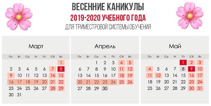 Spring Break 2020 avec un système de trois mètres