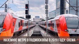 Métro métro en banlieue en 2020