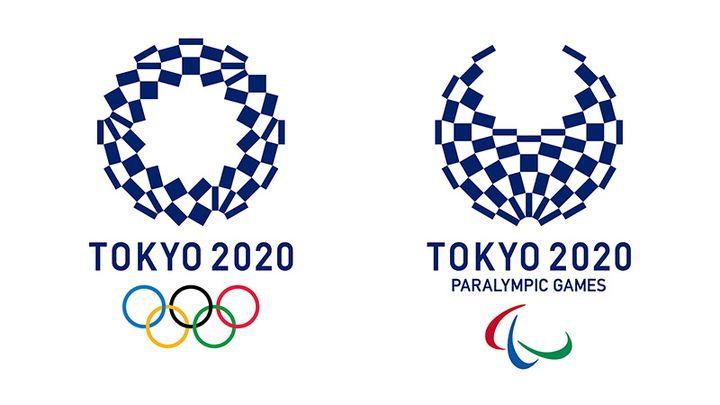 Emblème des Jeux Olympiques de Tokyo en 2020