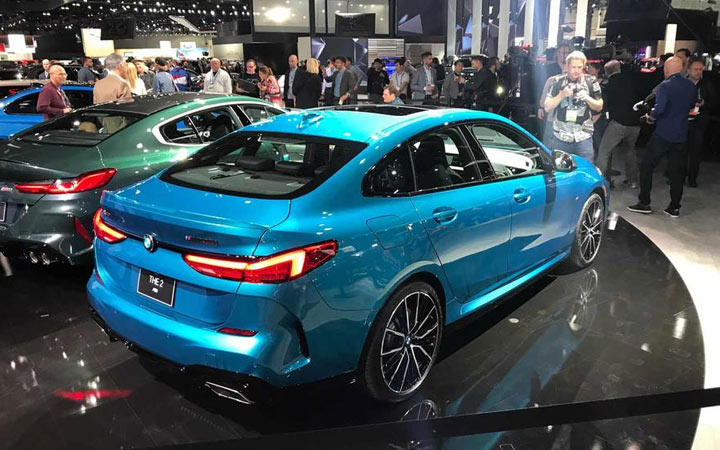 Los Angeles dévoile la BMW Série 2 Gran Coupe 2020