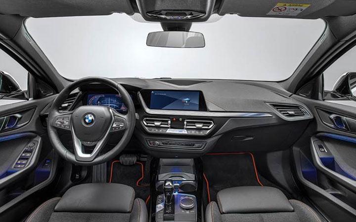 Intérieur de la BMW Série 2 Gran Coupe 2020