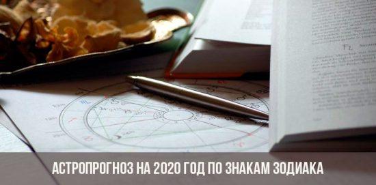 Prévisions Astro pour 2020 pour tous les signes du zodiaque