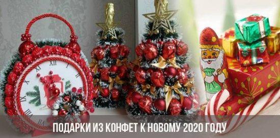 Cadeaux de bonbons pour la nouvelle année 2020