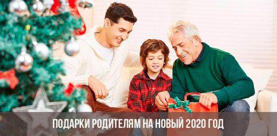 Cadeaux pour les parents pour la nouvelle année 2020
