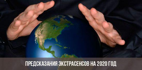 Prédictions psychiques pour 2020