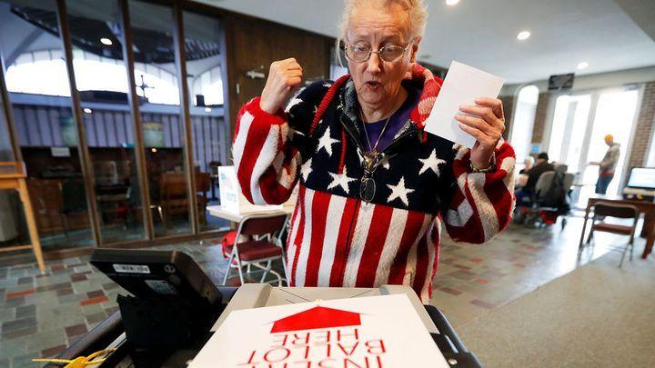 Vote en Amérique