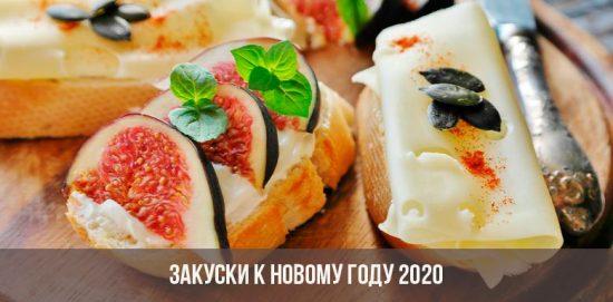 Collations pour la nouvelle année 2020