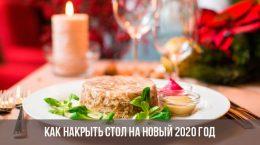 Comment mettre la table pour la nouvelle année 2020