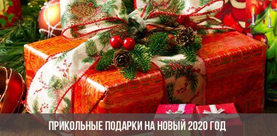 Cadeaux drôles pour la nouvelle année 2020