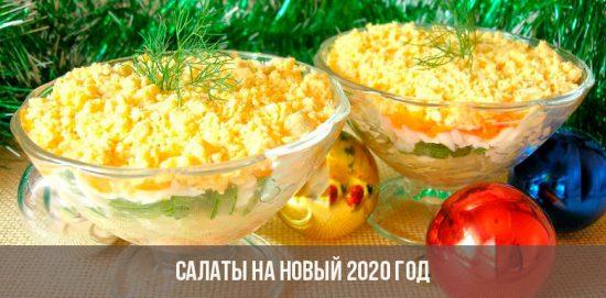 Salades pour la nouvelle année 2020