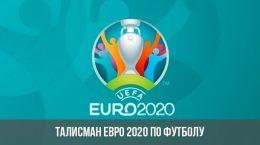 Mascot Euro 2020 Football