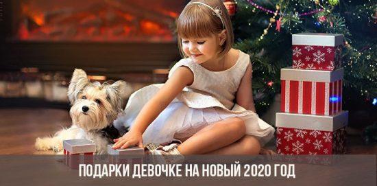 Cadeaux pour la fille pour le nouvel an 2020