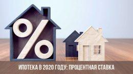 Hypothèque en 2020