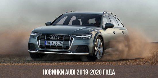 Nouvelle Audi 2018-2020