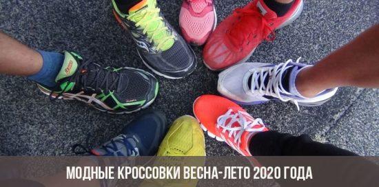 Sneakers à la mode printemps-été 2020
