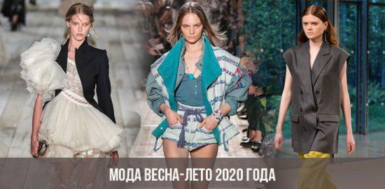Mode printemps-été 2020