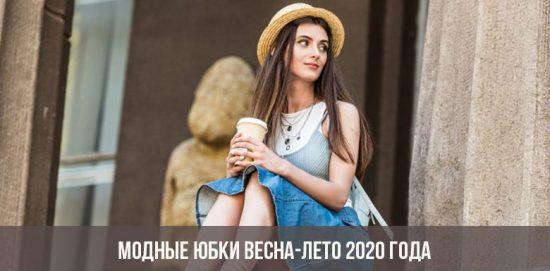 Jupes à la mode printemps-été 2020