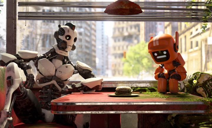 cadre de la série Love, Death and Robots