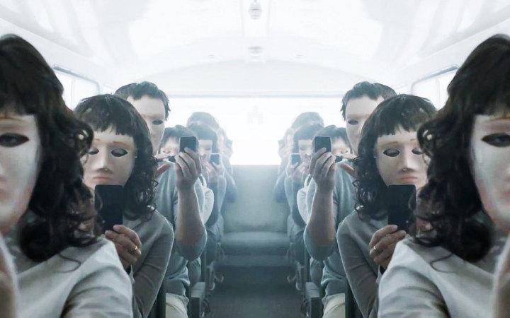 cadre de la série Black Mirror