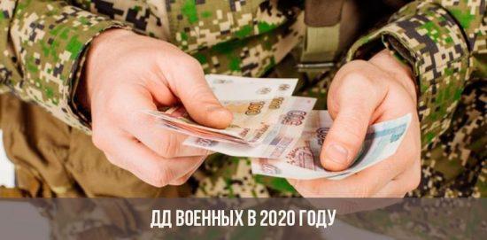 Allocation monétaire des militaires