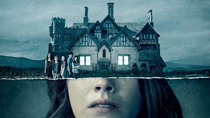affiche pour la série Haunted House Ghosts