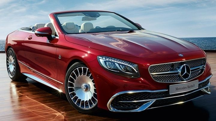 Mercedes rouge